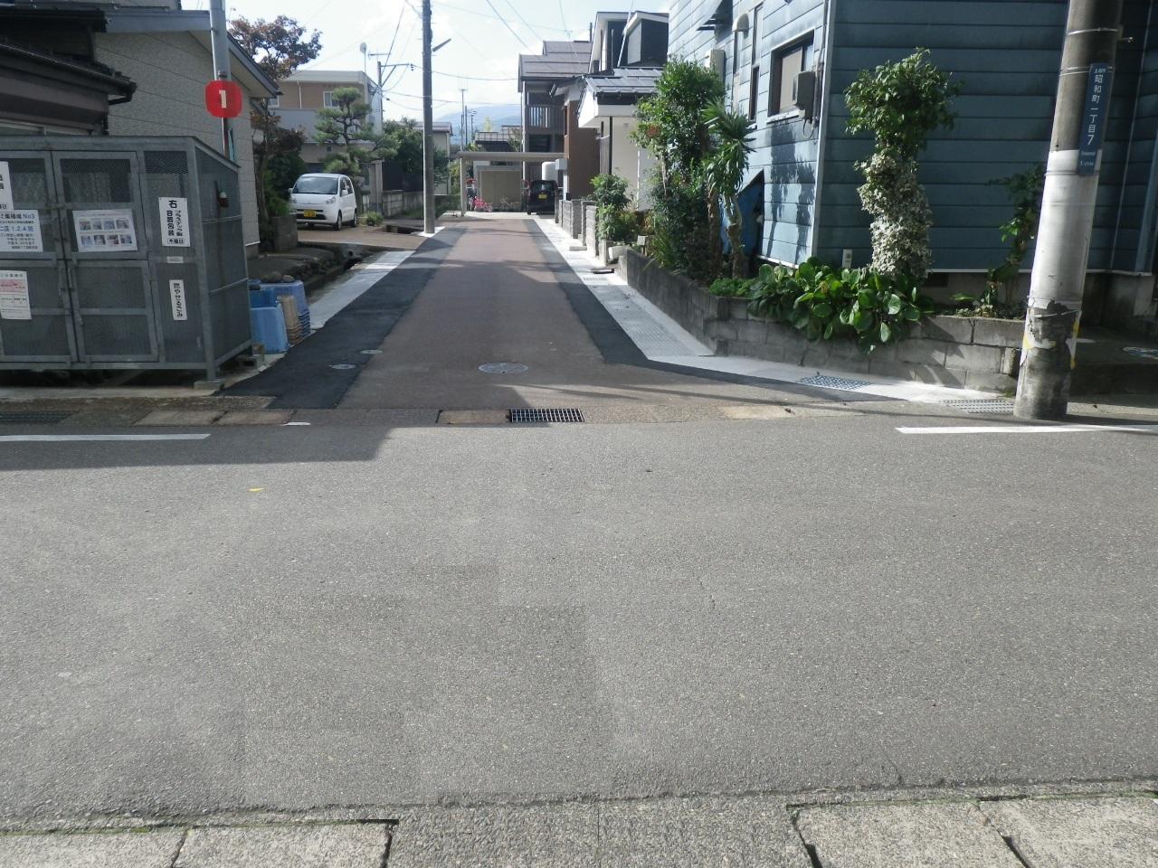 昭和町道路側溝改良工事